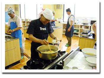 男性の自立のための料理教室 2010年6月20日